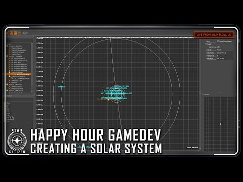 Star Citizen: Happy Hour Gamedev - Creating a Solar System