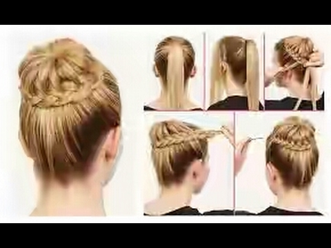 How To Make Juda Hair Style At Home Video YouTube