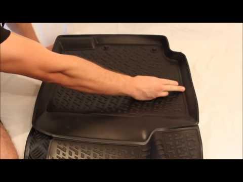 Резиновые и полиуретановые коврики в салон - IDriver