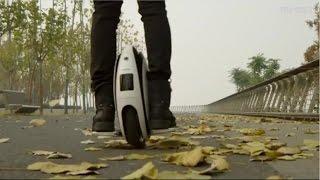 Transporte personal en una sola rueda eléctrica y portátil - 15 POST Video