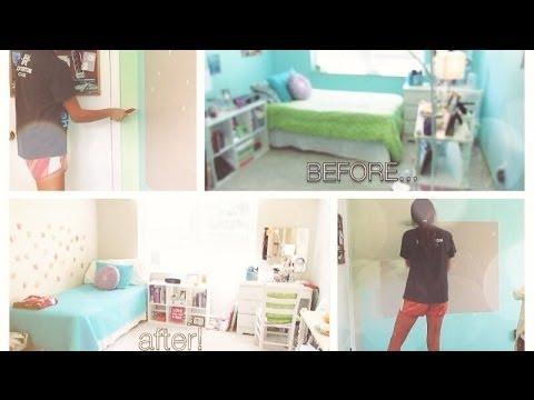 Room Redo Ideas re-doing my room! - youtube