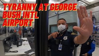 TSA protecting Beyoncé or just being stupid??? Houston, Texas