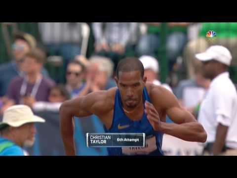 Olympic Track And Field Trials | Will Claye Wins Men