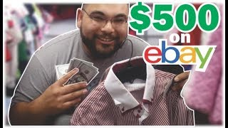 Making $500 selling thrift store clothes on ebay a month