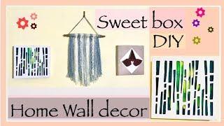 Home wall decor DIY || Sweet box Wall Decor DIY || Meraki Smile