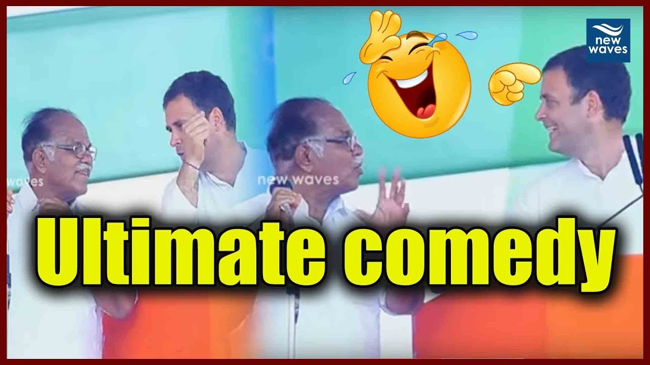 Rahul Gandhi Funny moment in Pathanamthitta, Kerala | New Waves