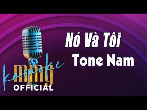 Nó Và Tôi (Karaoke Tone Nam) | Hát với MMG Band