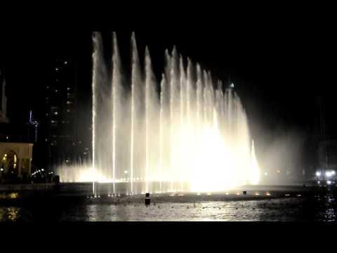 DUBAI MALL FOUNTAIN SHOW HD