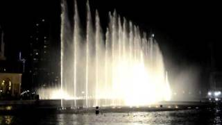 DUBAI MALL FOUNTAIN SHOW HD