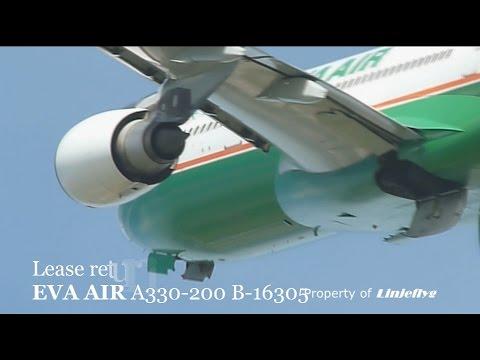 Lease return:EVA AIR A330-200 B-16305