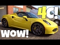 Should You Buy The Alfa Romeo 4c Spider?