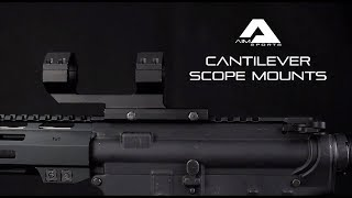 Cantilever Scope Mounts - AIM Sports Inc.