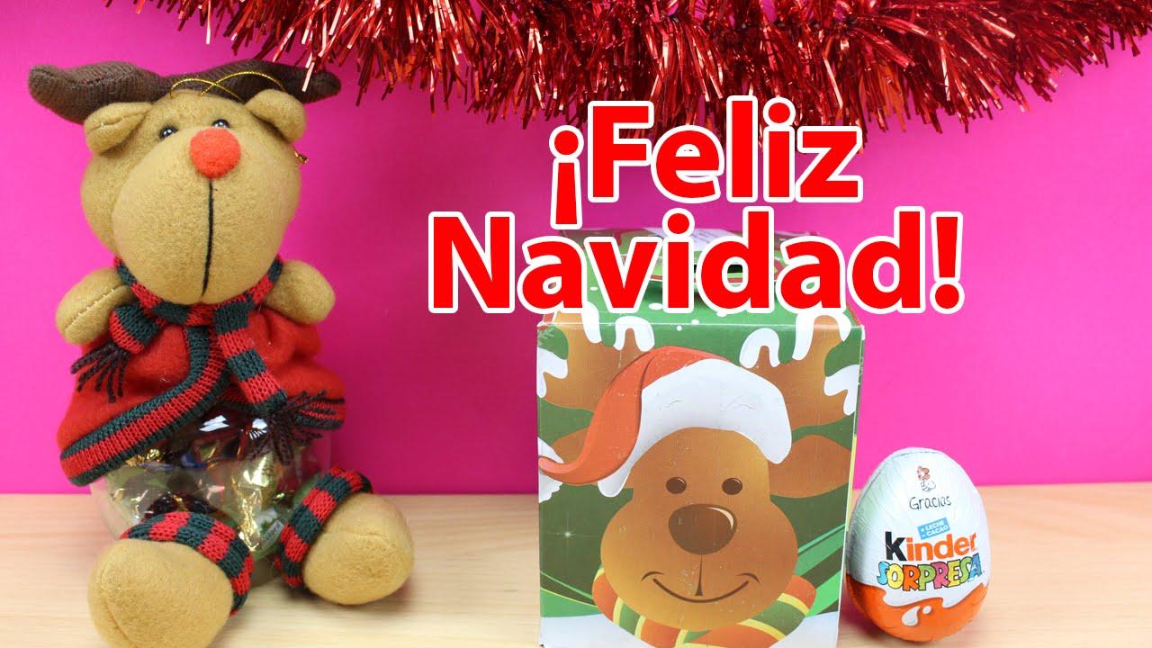 Caja sorpresa de chuches navide as sorpresas de navidad - Sorpresas para navidad ...