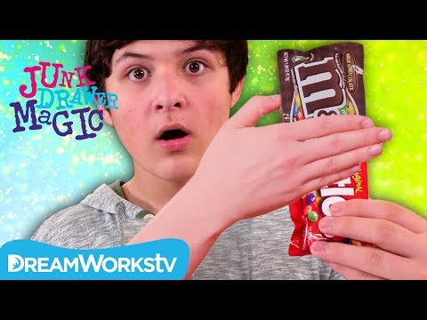 Candy Transformation Trick | JUNK DRAWER MAGIC