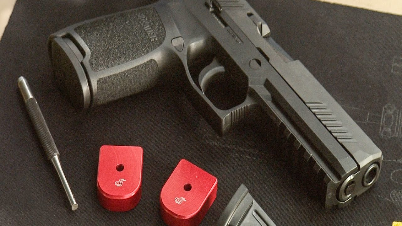 How to install Springer Precision Base pads on the Sig P320