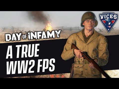 A TRUE WW2 FPS | Day of Infamy Gameplay
