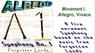 ALBEDO Symphony No. 1 (Album demo in HD) Genre: Classical / Orchestral