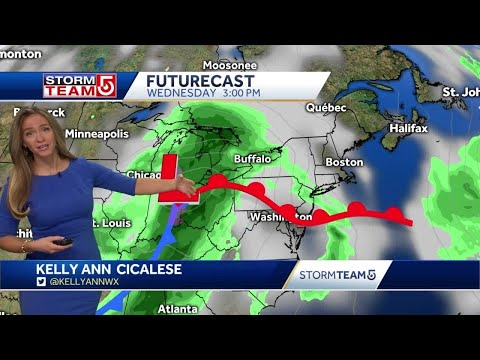 Video: More Rain Ahead After Brief Break Of Dry Weather