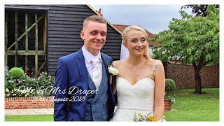 Mr & Mrs Draper Wedding Day Highlights