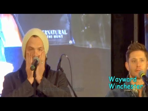 Tired Jared Padalecki Accidentally Calls Jensen 'A**hole' Out Loud SPN DC Con 2017