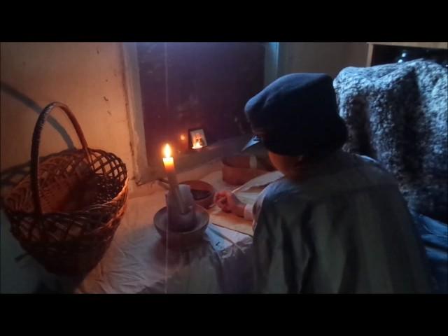 Изображение предпросмотра прочтения – ЛюдмилаКарасова представляет буктрейлер кпроизведению «Ванька» А.П.Чехова