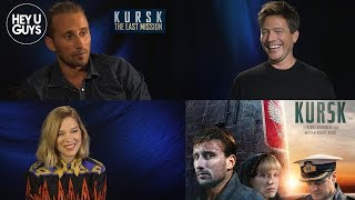 Matthias Schoenaerts, Léa Seydoux & Thomas Vinterberg On Kursk The Last Mission
