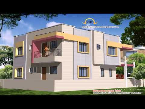 Free 4 Bedroom Duplex House Plans