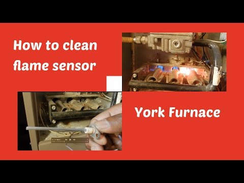 DIY: How to Clean The Flame Sensor on your York Furnace