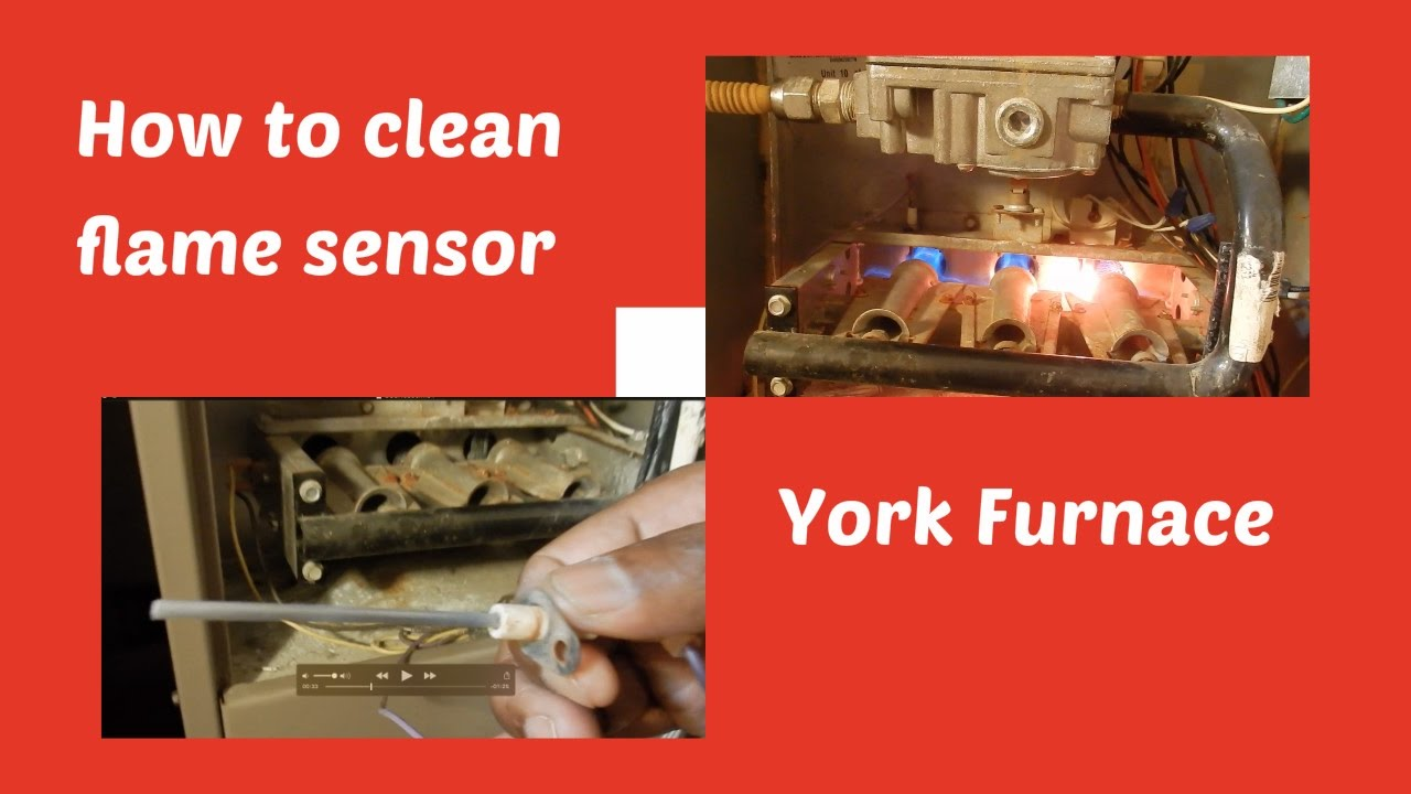 York Affinity 8t Furnace Manual Gas Schematic Diy How To Clean The Flame Sensor On Your Youtube Rh Com Parts Series