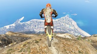 GTA 5 Crazy Jumps with Motorcycle #2 (GTA 5 Fails Funny Moments)
