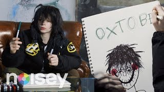 Matt Ox Draws His Self-Portrait