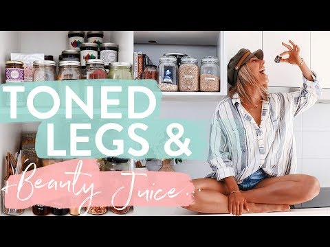 THE LIFE VLOG: Clear Skin Smoothie | Updates | Boyfriend | Toned Leg & Booty Workout
