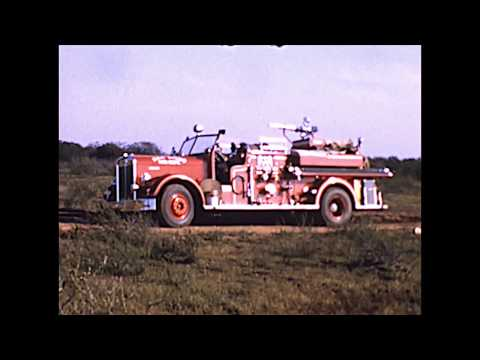 Fire Fighting Equipment And Tests In  The 1950's - 1960's San Diego Fire Department Reel 1