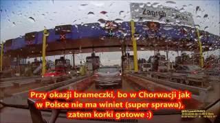 Droga Z Czarnogóry Przez Chorwację Do Polski 2016 - Zapraszam HD