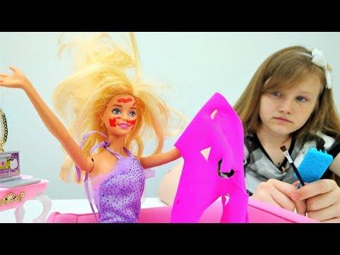 БАРБИ портят СВИДАНИЕ с Кеном 💖 Игры Одевалки 👗 Прическа, Платье, Макияж в видео для девочек