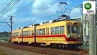 【もと福岡市内線】筑豊電気鉄道2000形(黄電) 筑豊香月~楠橋 Chikuho Electric Railroad