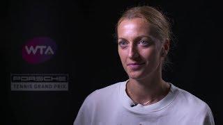 Interview Petra Kvitova (CZE) final – Porsche Tennis Grand Prix 2019