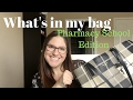 What's In My School Bag | Pharmacy School Edition