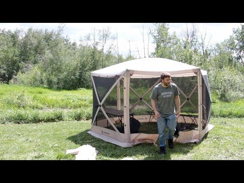Camping With Steve - Overnight By Creek In Screen Tent - Chilli Quesadillas