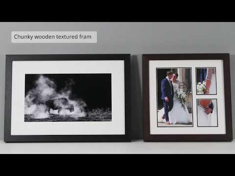 Chunky Wooden Photo Frame - Simplicity - Sim Frame