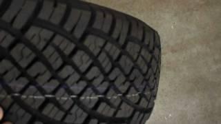 Big AT tyres Freelander 2 General Grabber AT
