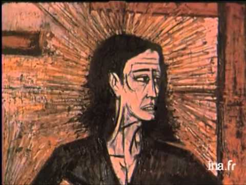 Annabel et Bernard Buffet en 1962 - YouTube