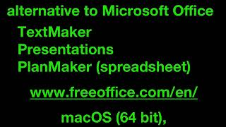 FreeOffice is a Free Alternative to Microsoft Office