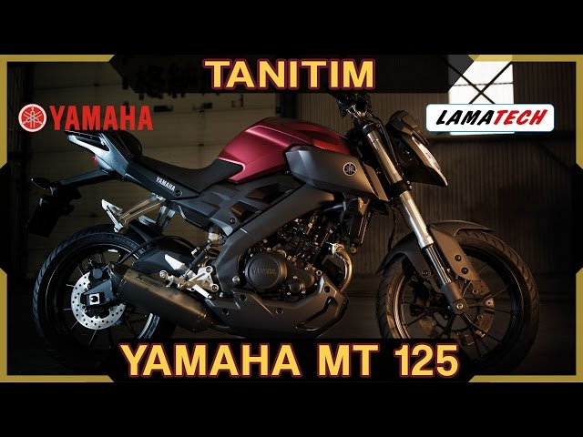 Yamaha MT 125 İncelemesi | Rahmi Barutçu