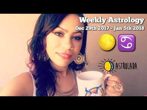"Weekly Astrology Forecast for Dec 29th - Jan 5th & Celebrity ""Coffee Talk"" W/Astrologer April!"