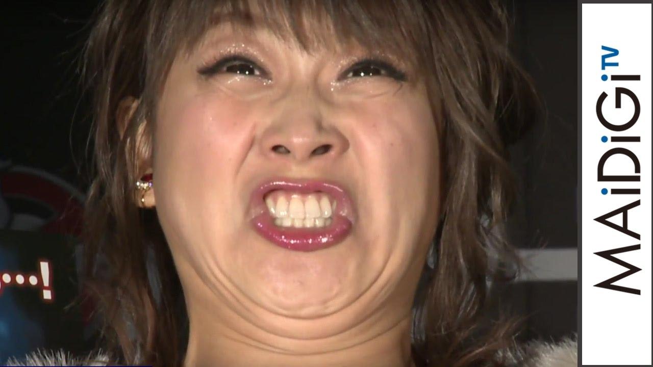 鈴木奈々、全力の変顔を生披露! 「ゴーストバスターズ」BD&DVD発売記念イベント会見2 - YouTube