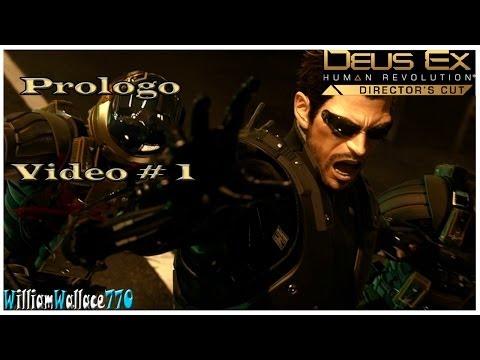 Deus Ex Human Revolution | Director's Cut | PC | Español | Prologo | Vídeo 1