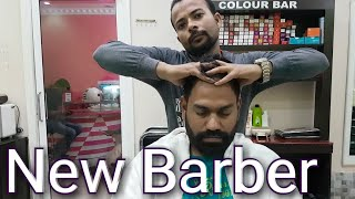 Indian head massage with back,palm,harms massage by Indianbarber ASMR Videos