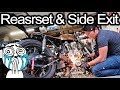 Cafe Racer Gets Side Exit And Rear Set Installed -  Honda CB550 Cafe Racer Build Pt. 73