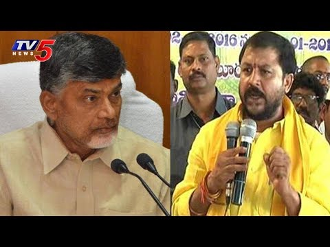 Chandrababu Calls And Boosts Chinthamanenis Confidence